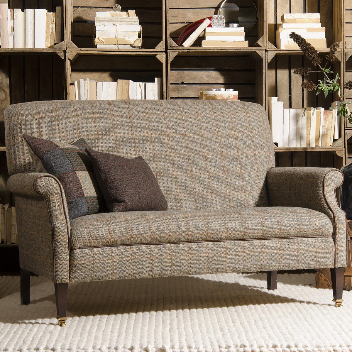 Tetrad Harris Tweed Bowmore Compact Sofa Kings
