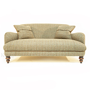 Tetrad Harris Tweed Breamar Petit Sofa Loden
