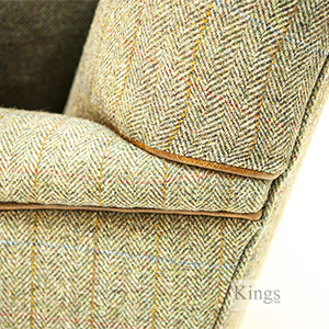 Tetrad Harris Tweed Side Detail