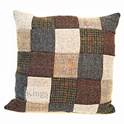 Tetrad Harris Tweed Large Patchwork Scatter Cushions