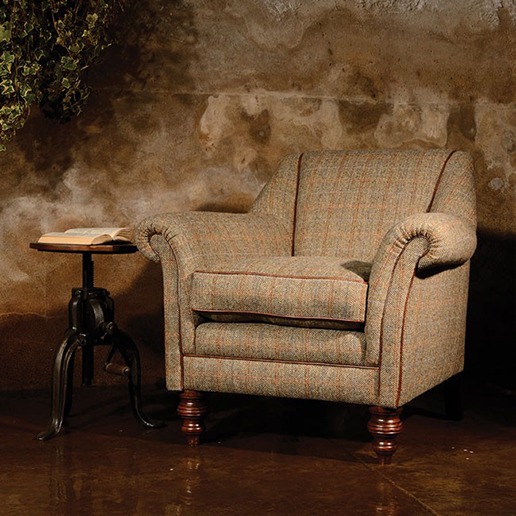 Tetrad Harris Tweed Dalmore Accent Chair  2