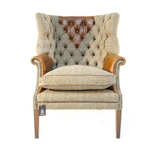 Tetrad Upholstery Harris Tweed Mackensie Chair