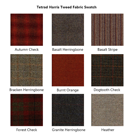 Tetrad Harris Tweed Fabric Swatch 1