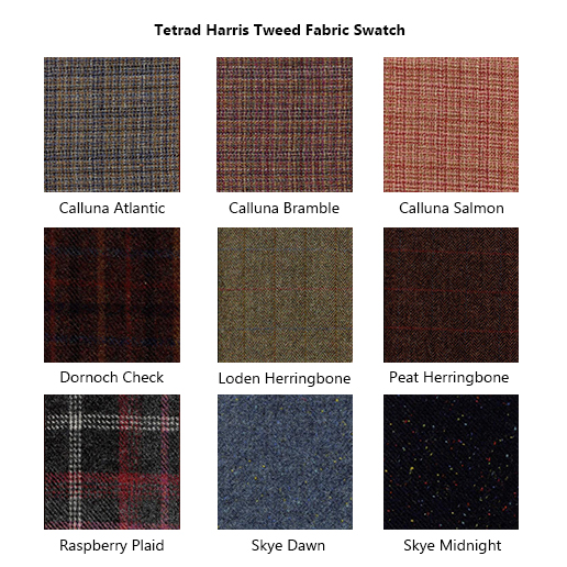 Tetrad Harris Tweed Fabric Swatch 2