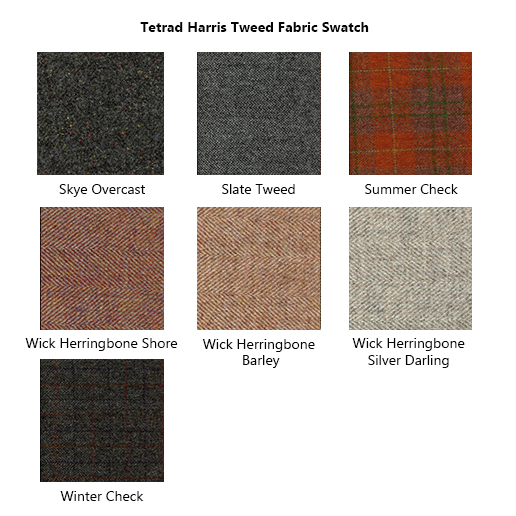 Tetrad Harris Tweed Fabric Swatch 3