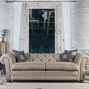 Tetrad Upholstery Harris Tweed Castlebay Grand Sofa