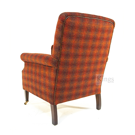 Tetrad Harris Tweed Bowmore Chair in Autum Check nnn