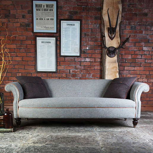 Tetrad Harris Tweed Bowmore Midi Sofa