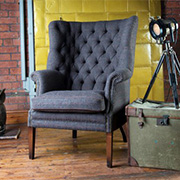 Tetrad Upholstery Harris Tweed Mackenzie Chair