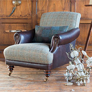 Tetrad Upholstery Harris Tweed Taransay Ladies Chair