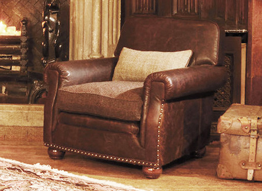 Tetrad Upholstery Harris Tweed Stornoway Chair
