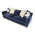Tetrad Upholstery Gatsby Sofa Foot in Ralph Lauren Signature fabric 2