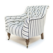 Tetrad Upholstery Yale Chair in Ralph Lauren Signature Fabric
