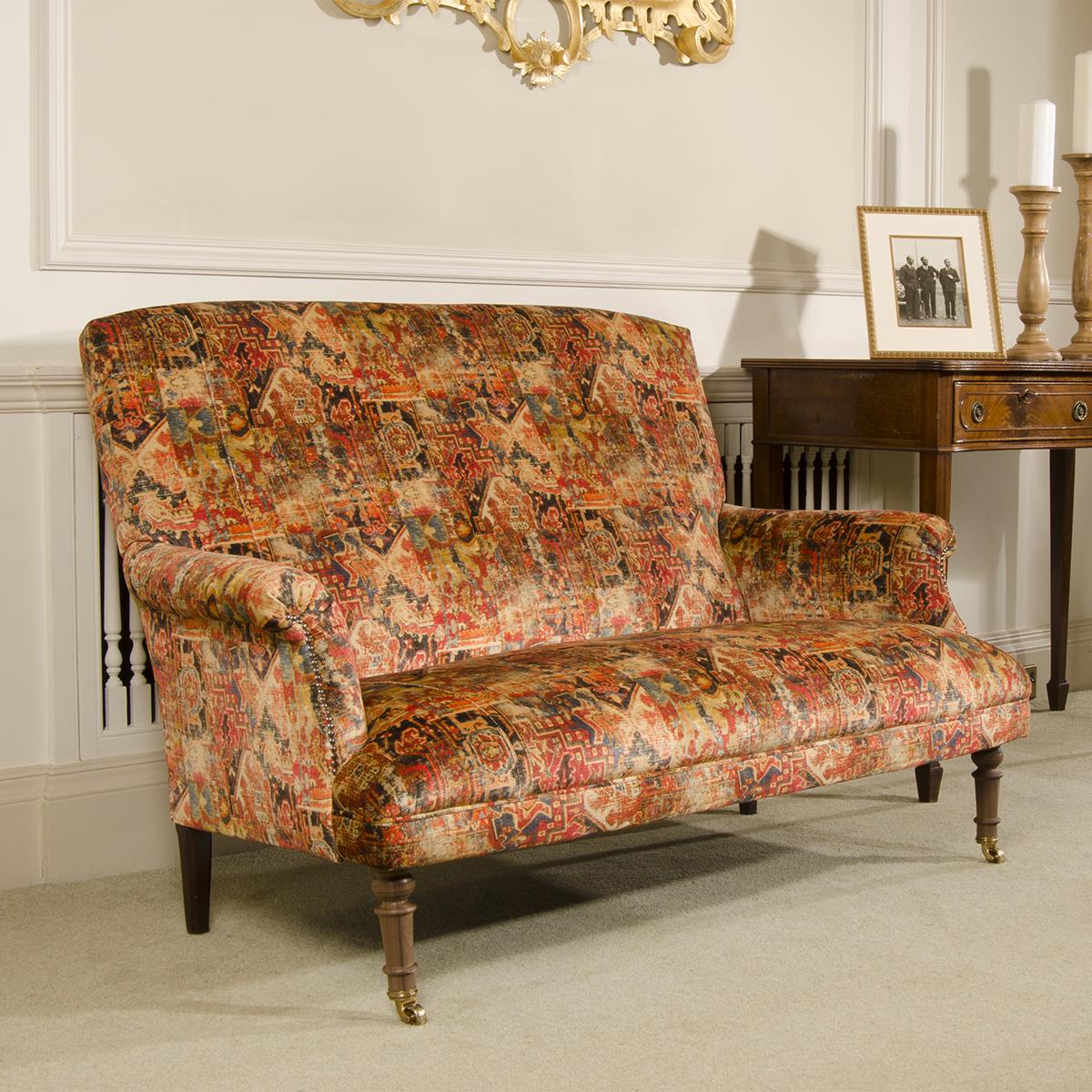 Tetrad Upholstery Tuxedo Petit Sofa In Signature Ralph