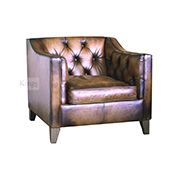 Tetrad Upholstery Battersea Chair In Leather at Kings of Nottingham for that better Contrast Deal.