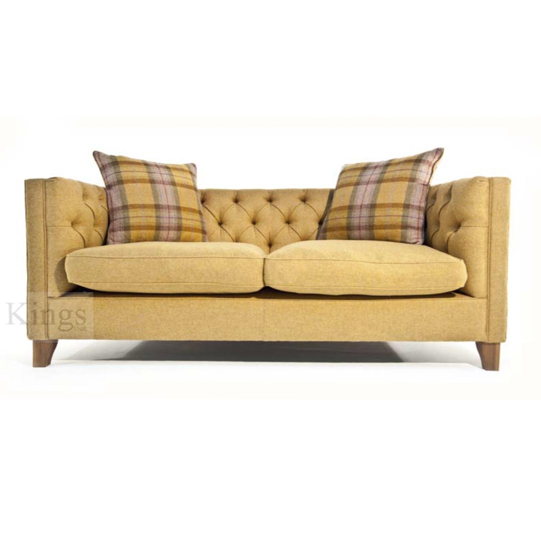 Tetrad Upholstery Battersea Midi Sofa In Fabric Or Leather