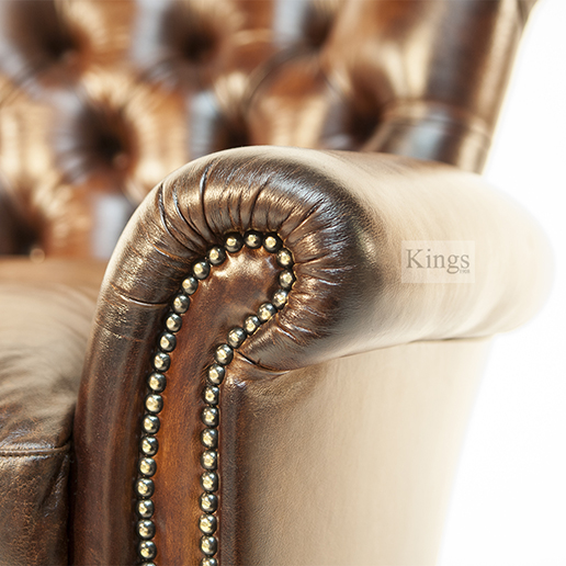 Tetrad Contrast Upholstery Coleridge Chair Button Back 3