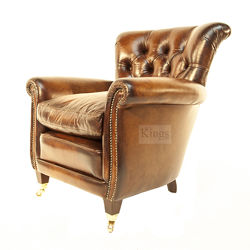 Contrast Upholstery Coleridge Chair