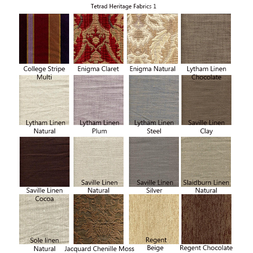 Tetrad Elgar Fabric Samples 1