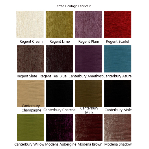 Tetrad Elgar Fabric Samples  2