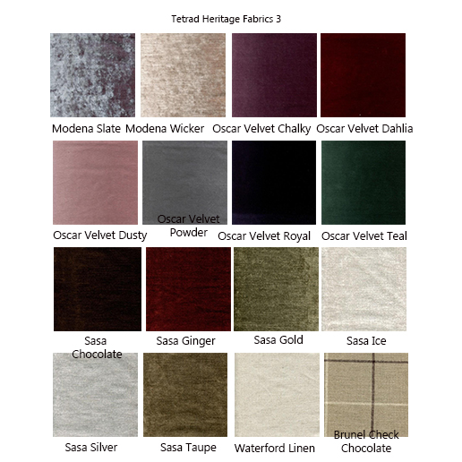 Tetrad Elgar Fabric Samples 3