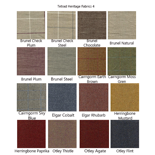 Tetrad Elgar Fabric Samples 4