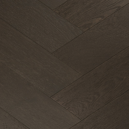 Tuscan Modelli Smoked Brushed UV Oiled And Black Stained Oak Flooring TF30