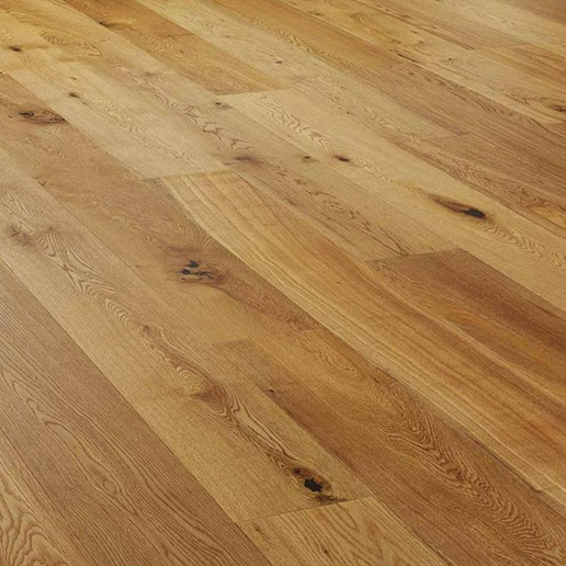 V4 Alpine Wide Plank A111 Oak Rustic Brushed And Matt Lacquered.