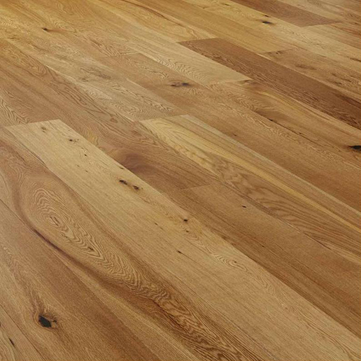 V4 Alpine Wide Plank A112 Oak Rustic UV Oiled.