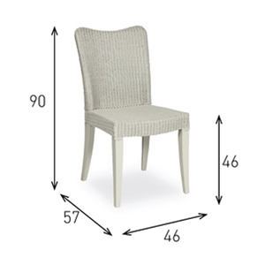 Vincent Sheppard Lloyd Loom Melissa Chair DC M03 at Kings the home of Lloyd Loom for the best online prices