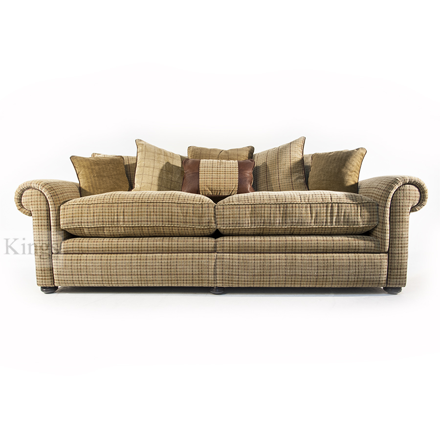 Tweed fabric sofa sofa menzilperde net for Leather and tweed sofa