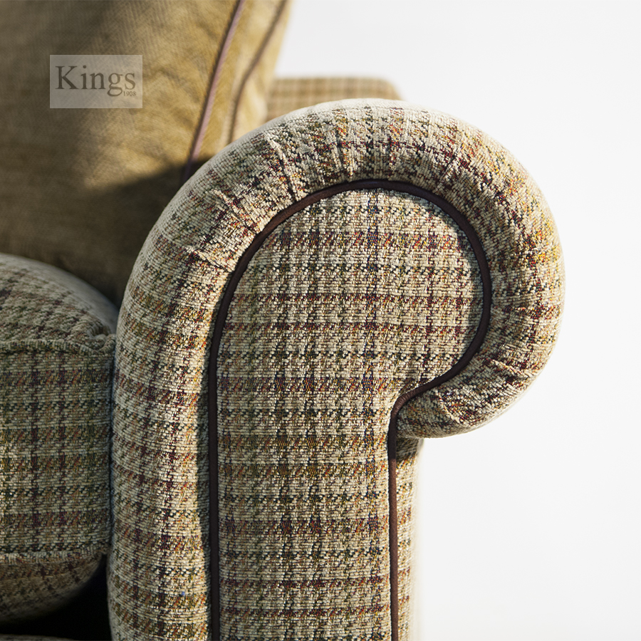 Wade Upholstery Barnaby Grand Fabric Sofa Example 3
