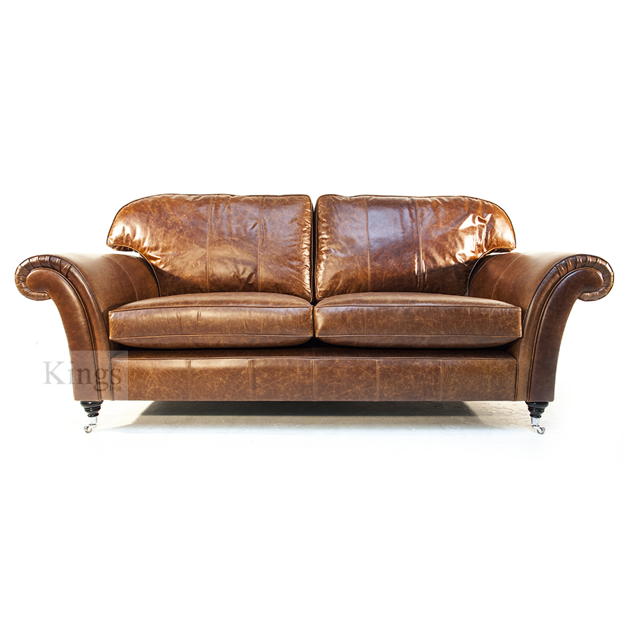 Wade upholstery large jasper sofa in leather Sofa aufpolstern