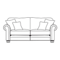 Alstons Cambridge 3 Seater Sofa Bed