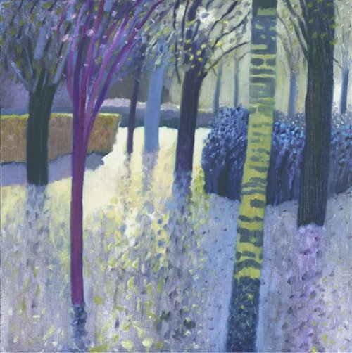 Malcolm Ashman - Lilac Shadows (Framed) - Limited Edition Artworks at Kings Interiors Nottingham