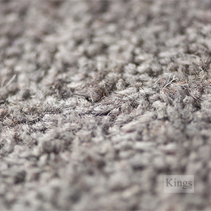 80% Wool 20% Nylon Twist Pile Carpet 50 oz Frosted Steel