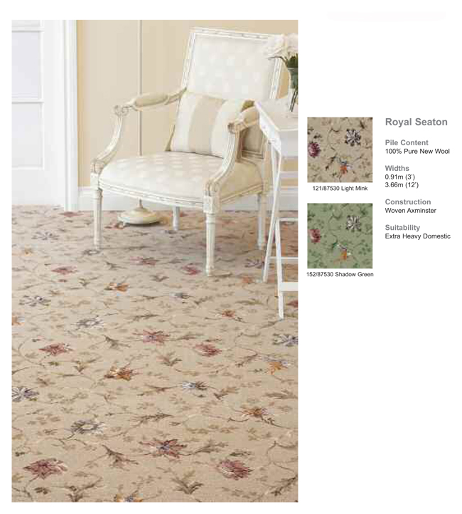 Axminster Carpets of Devon Royal Seaton