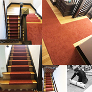 Wester Ultima Twist Fitted by James To Stairs and Landing