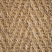 Coir Herringbone Natural at Kings the natural flooring experts.