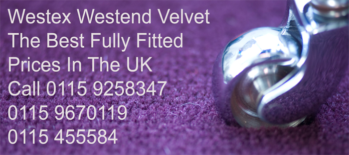 For richness, comfort and style the Westend Velvet range from Westex Carpets offers the ultimate in deluxe carpet with 3 qualities and 96 colours to choose from.