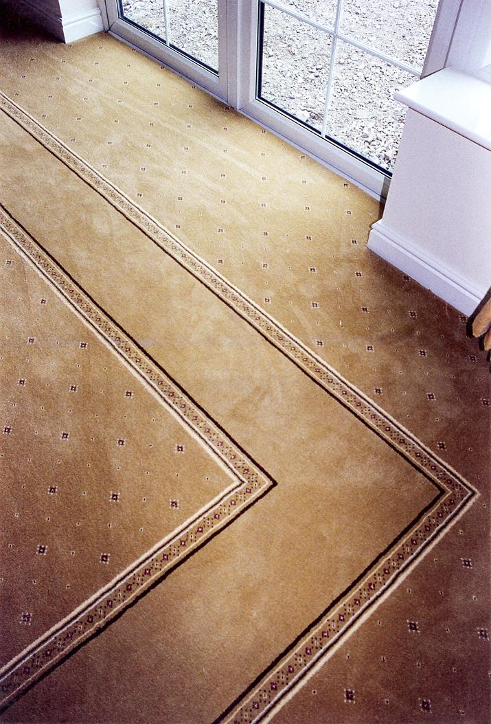 Gold Axminster Border Kings Interiors