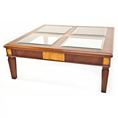 Charles Barr Grandeur Glass Top Coffee Table