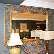 Christopher Guy Hand Carved Rectangular Mirror
