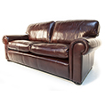 Wade Upholstery Berrington Large Sofa and Chair In Leather