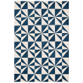 Asiatic Rugs Fashion Floors Arlo AR02 Mosaic Denim from Kings Interiors - the ideal place to buy Furniture and Flooring. Call Today - 01158258347.