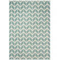 Asiatic Rugs Fashion Floors Arlo AR05 Chevron Blue from Kings Interiors - the ideal place to buy Furniture and Flooring. Call Today - 01158258347.