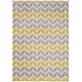 Asiatic Rugs Fashion Floors Arlo AR06 Chevron Lemon Grey from Kings Interiors - the ideal place to buy Furniture and Flooring. Call Today - 01158258347.