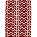 Asiatic Rugs Fashion Floors Arlo AR08 Chevron Red from Kings Interiors - the ideal place to buy Furniture and Flooring. Call Today - 01158258347.