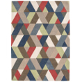 Asiatic Rugs Modern Wool Funk Chevron Multi from Kings Interiors - the ideal place to buy Furniture and Flooring. Call Today - 01158258347.