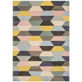 Asiatic Rugs Modern Wool Funk Honeycomb Pastel from Kings Interiors - the ideal place to buy Furniture and Flooring. Call Today - 01158258347.